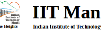 IIT MANDI RECRUITMENT